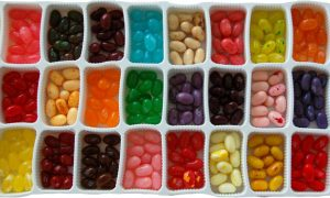 image of jelly bean selection